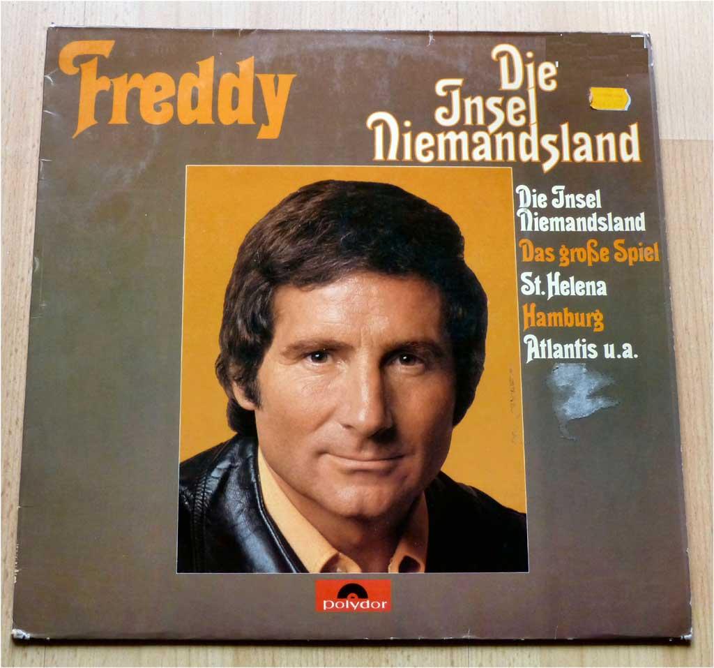 Schlagerstars Freddy Quinn, LP Insel Niemandsland