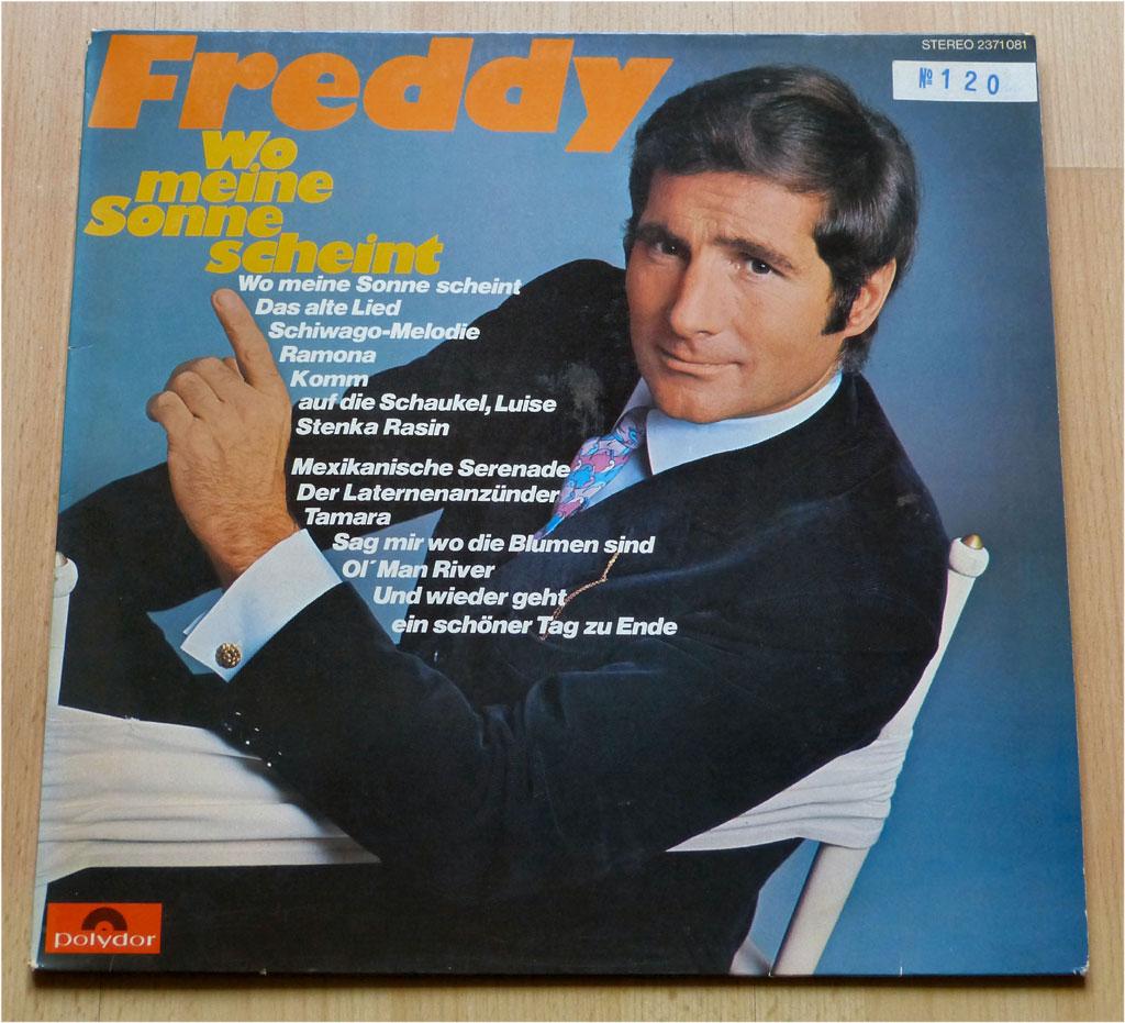 Langspielplatte Freddy Quinn, Wo meine Sonne scheint