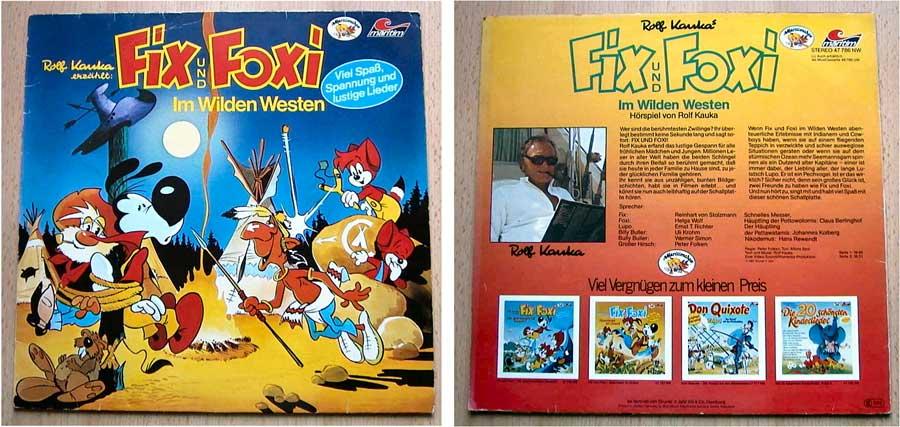 Hörspiel von Rolf Kauka auf Schallplatte - Fix und Foxi von 1981