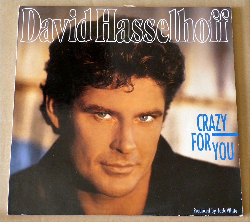 Geschmacksache LP mit David Hasselhoff