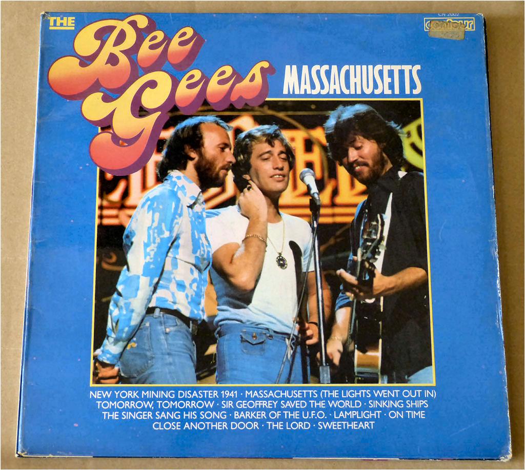 Die Bee Gees Langspielplatte