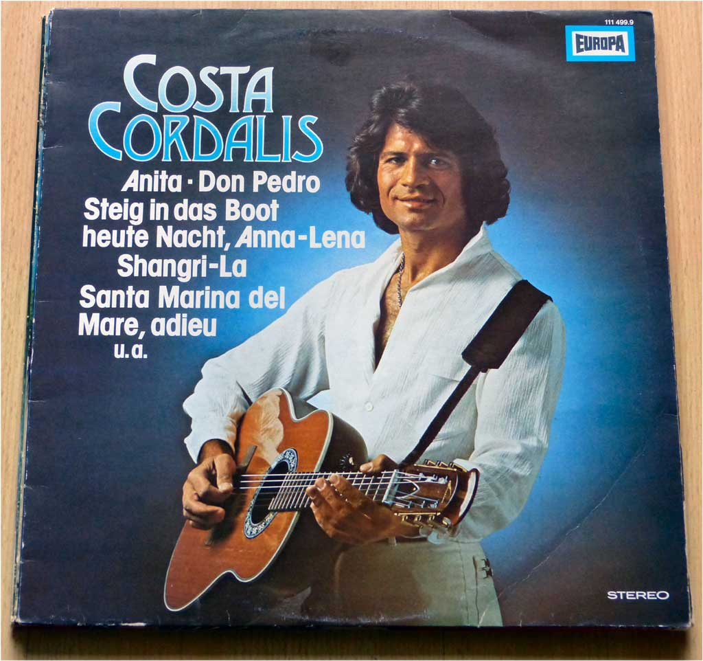 Goldene Songs von Costa Cordalis