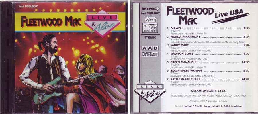 Fleetwood Mac – Live & Alive - Live USA