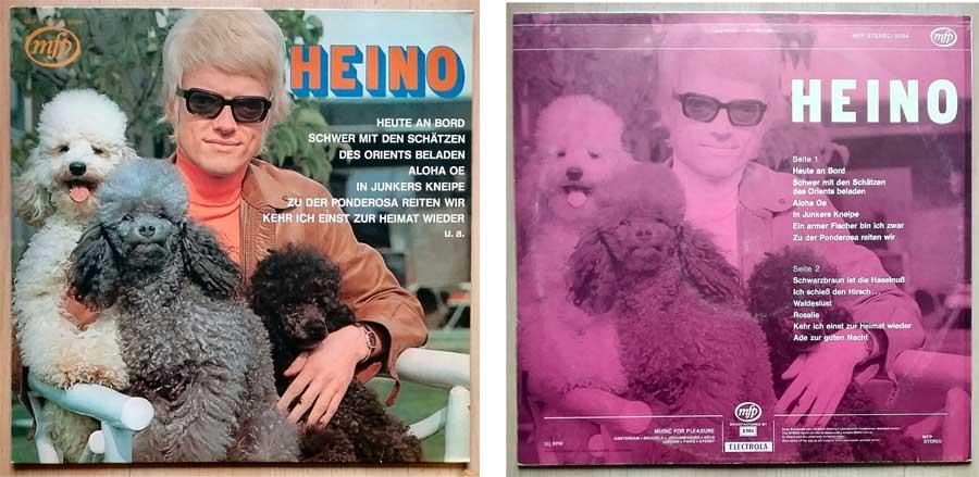 Heino Schallplatte, LP, Vinyl