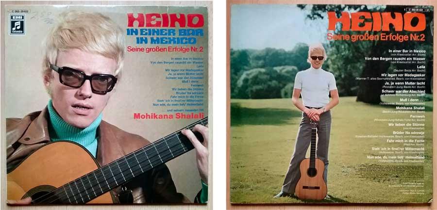 LP, Vinyl von Heino mit seinen großen Erfolgen Nr. 2