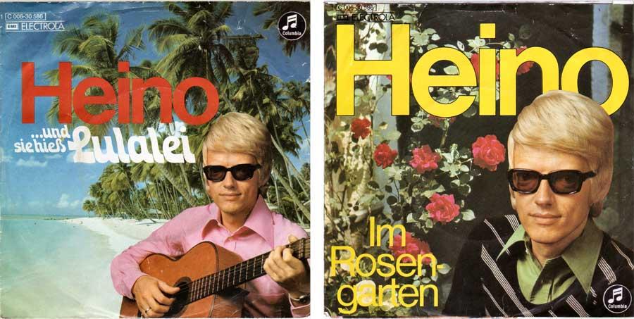 Vinyl, 7 Zoll von Heino für Musikbox Melodien