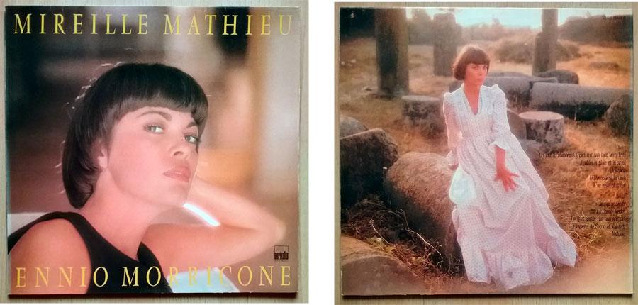 LP, Vinyl Mireille Mathieu singt in Filmmusik