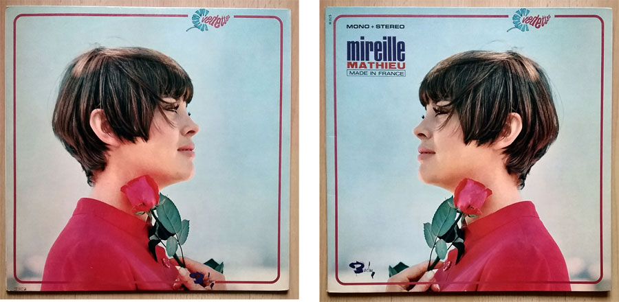 Schallplatte von Mireille Mathieu - Made In France