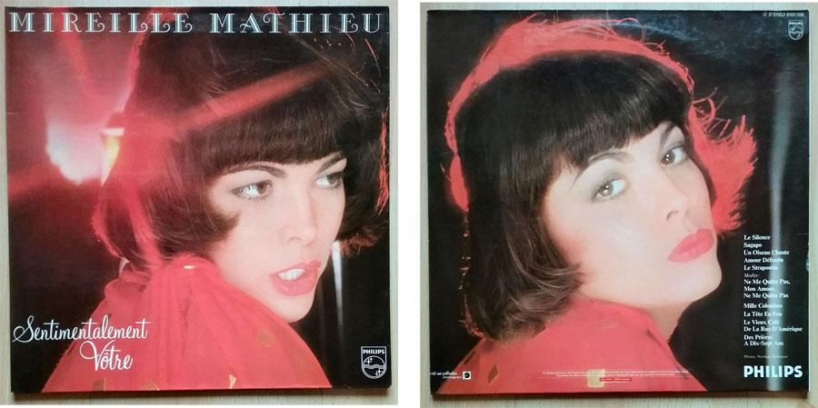 Vinyl, Album von Mireille Mathieu