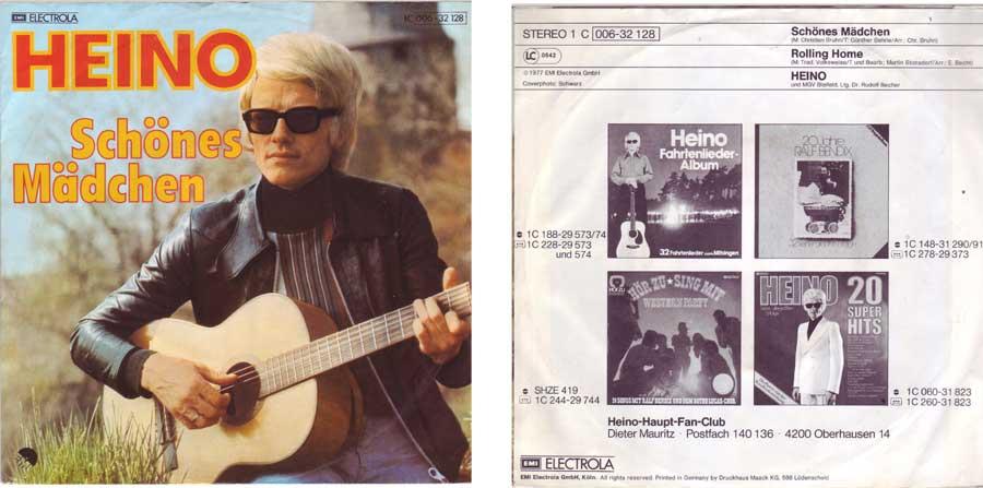 7 Zoll Single von Heino Melodien