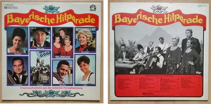 Aus der beliebten Fernsehsendung - Bayerische Hitparade