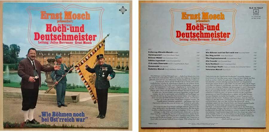 Die Original Hoch- und Deutschmeister auf Vinyl