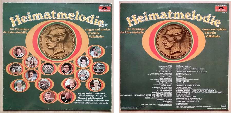 Deutsche Volkslieder auf Langspielplatte