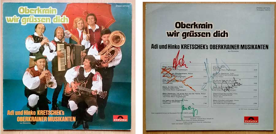 Oberkrainer, Adi und Hinko Kretschek