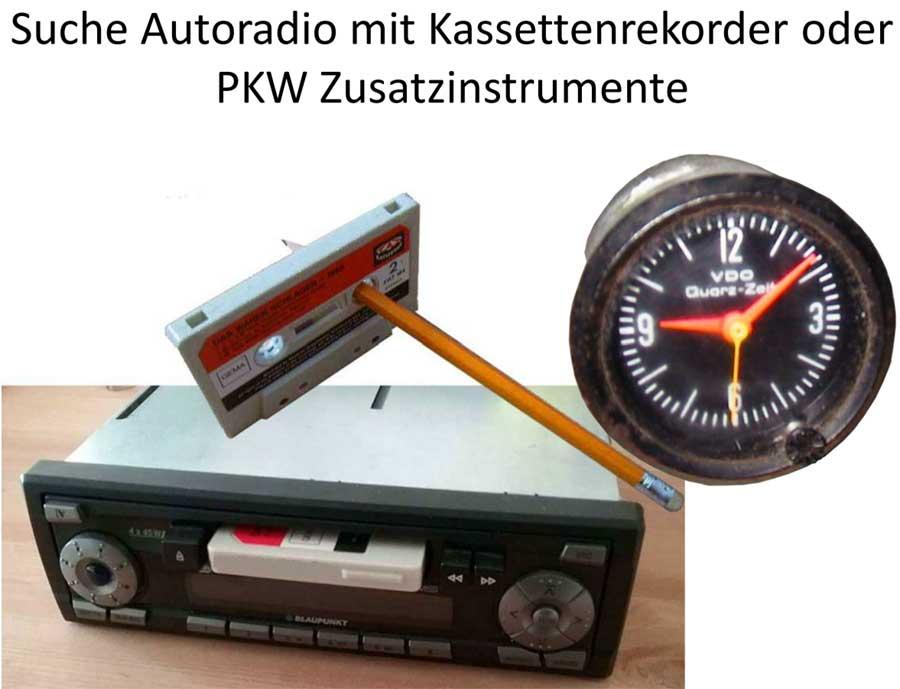 PKW Zusatzinstrumente gesucht