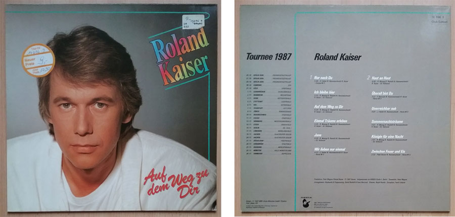 Club Edition LP von Roland Kaiser