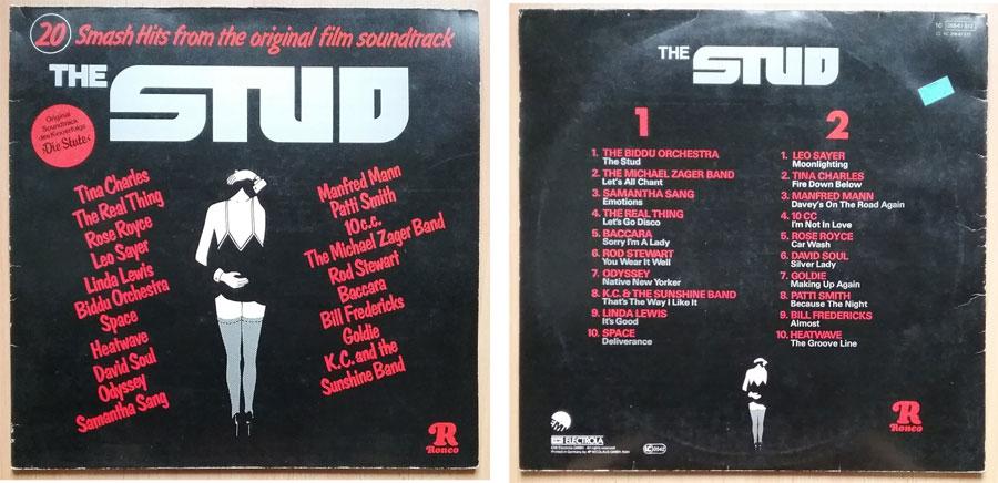 Schallplatte von 1978 mit The Stud