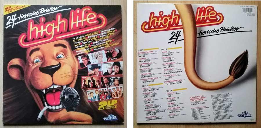 High Life 24 Musik auf LP