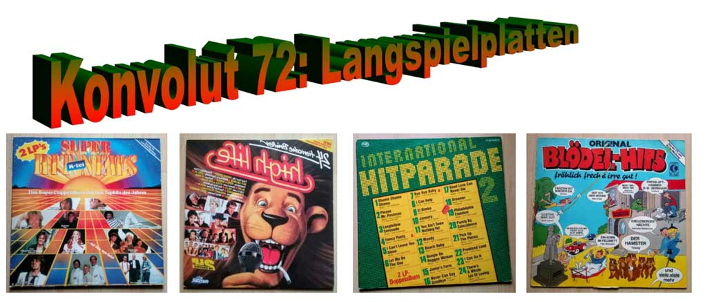 High Live Banner Langspiel-Schallplatten Vinyl