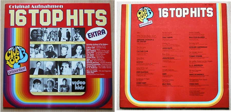 Club Top 13 Extra - LP von 1984
