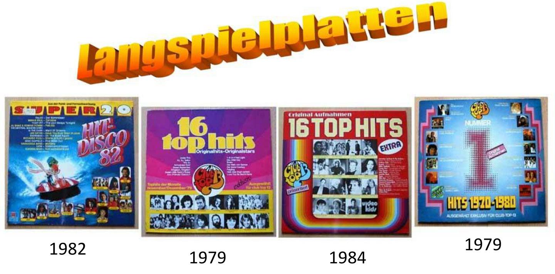 Hit-Disco - Songs von 1970 bis 1980 auf LP