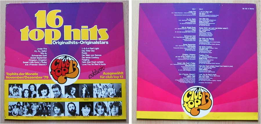 16 Top Hits - Tophits der Monate November/Dezember 1979