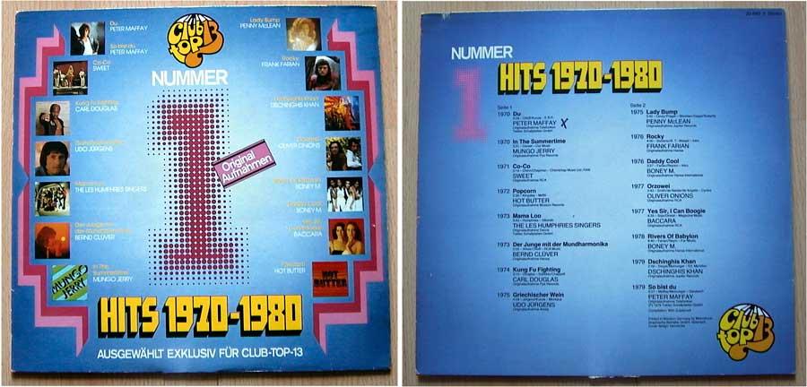 Nummer 1 Hits 1970-1980 auf LP