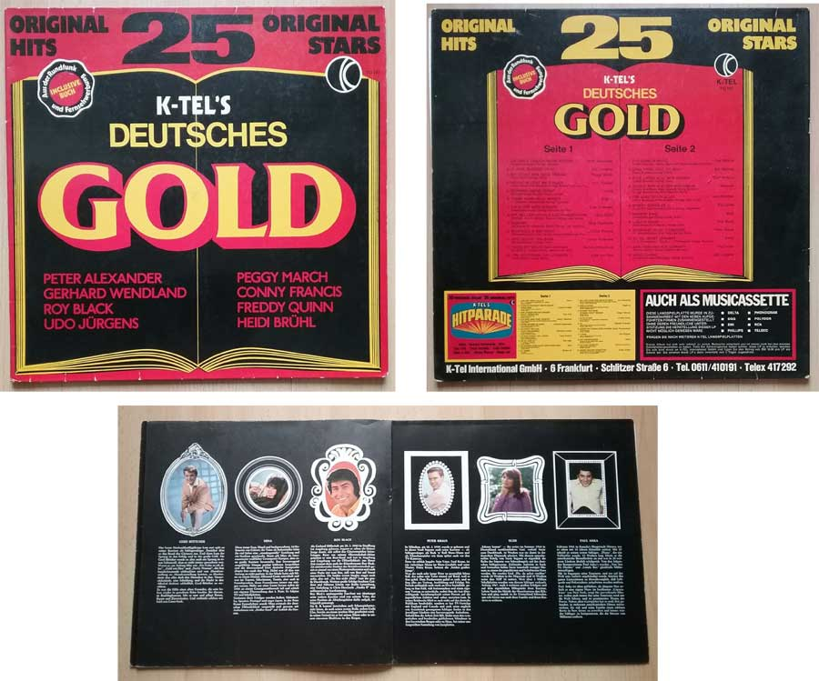 Deutscher Schlager 25 Original Hits Original Stars