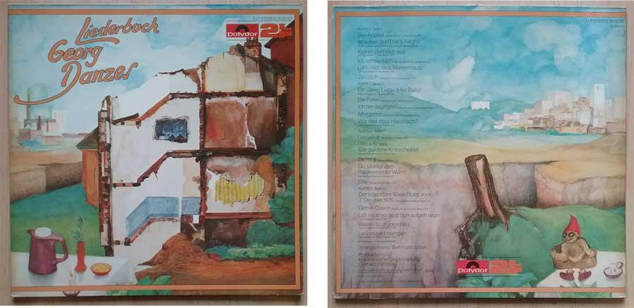 Doppel-LP, Liederbuch von Georg Danzer