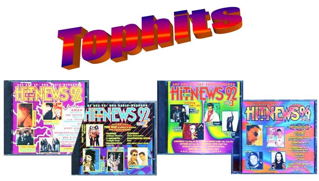 Hit-News Musik aus der TV und Radiowerbung