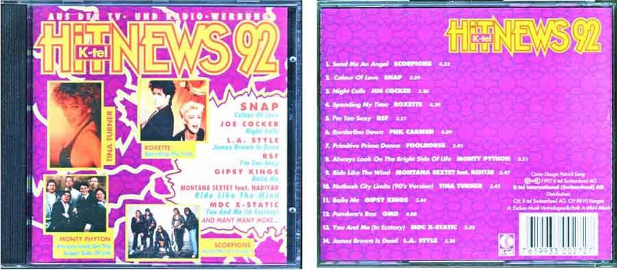 HitNews von 1992 EAN: 7619933002727