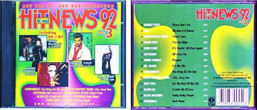 Hit-News von 1992 EAN: 7619933004523