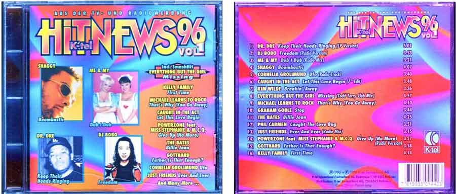 Hit-News von 1996 EAN: 7619933014423