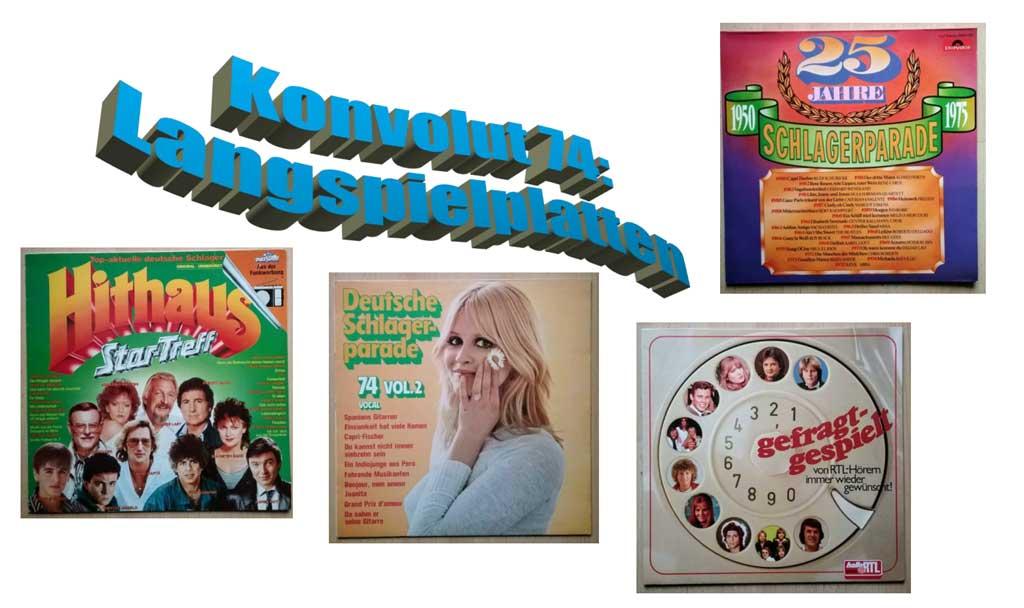 Hithaus Banner Langspielplatten