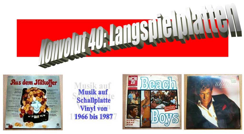 Hitkoffer einige LPs - Vinyl - Langspielplatten