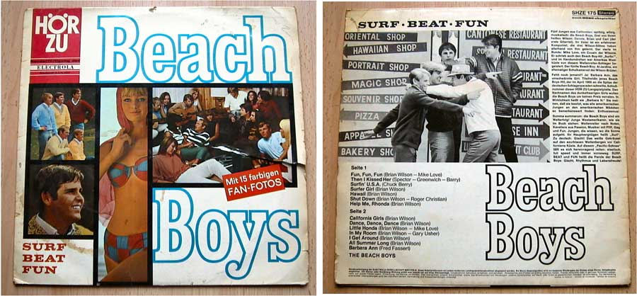 The Beach Boys - Surf Beat Fun - LP Vinyl von 1966