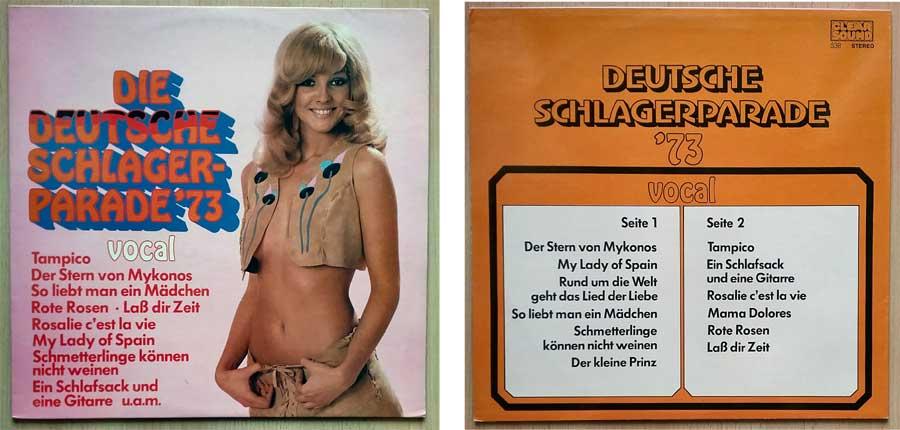 Schlageralbum mit Tanzmusik aus den 1970ern