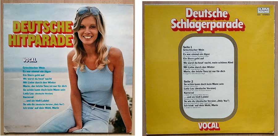 Schlagerabend mit Deutscher Musik auf LP