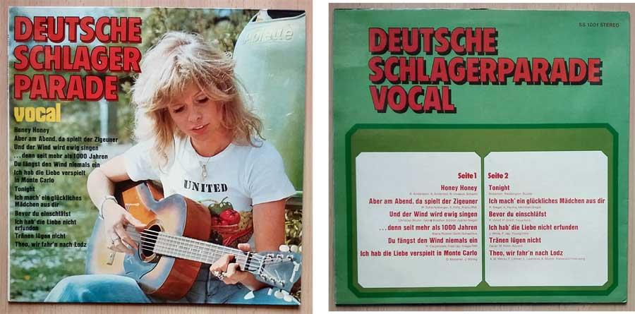 Fetenmusik auf Schallplatte der 1970er