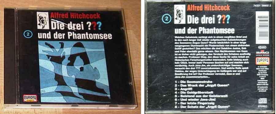 drei fragezeichen phantomsee CD Cover