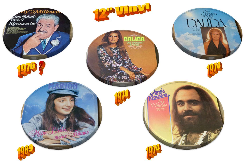 Schallplatten Generation 70er Jahre