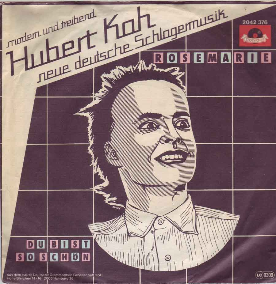 "7"" Zoll Single von Hubert Kah"