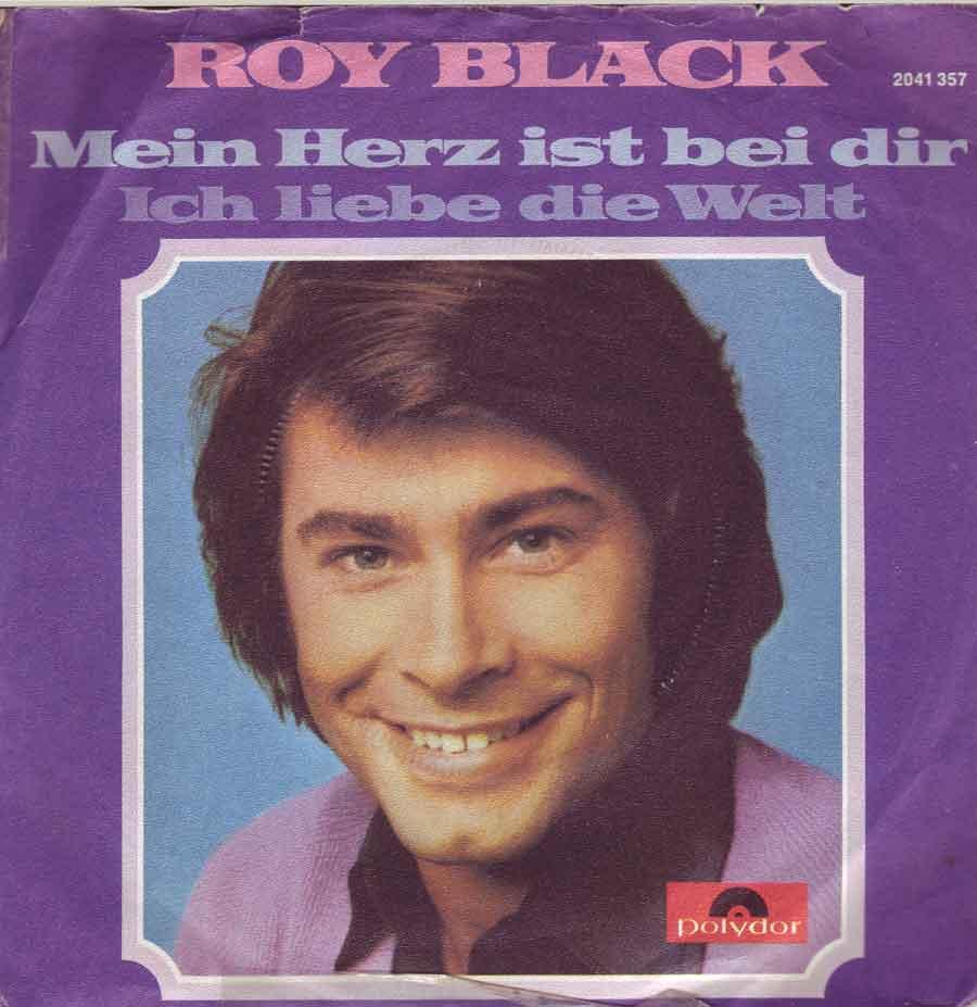 Single von Roy Black. Ich liebe die Welt