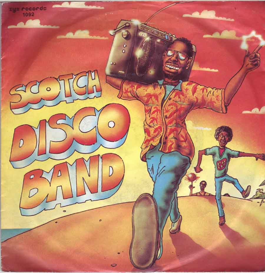 Scotch Disco-Band als 7 Zoll Single