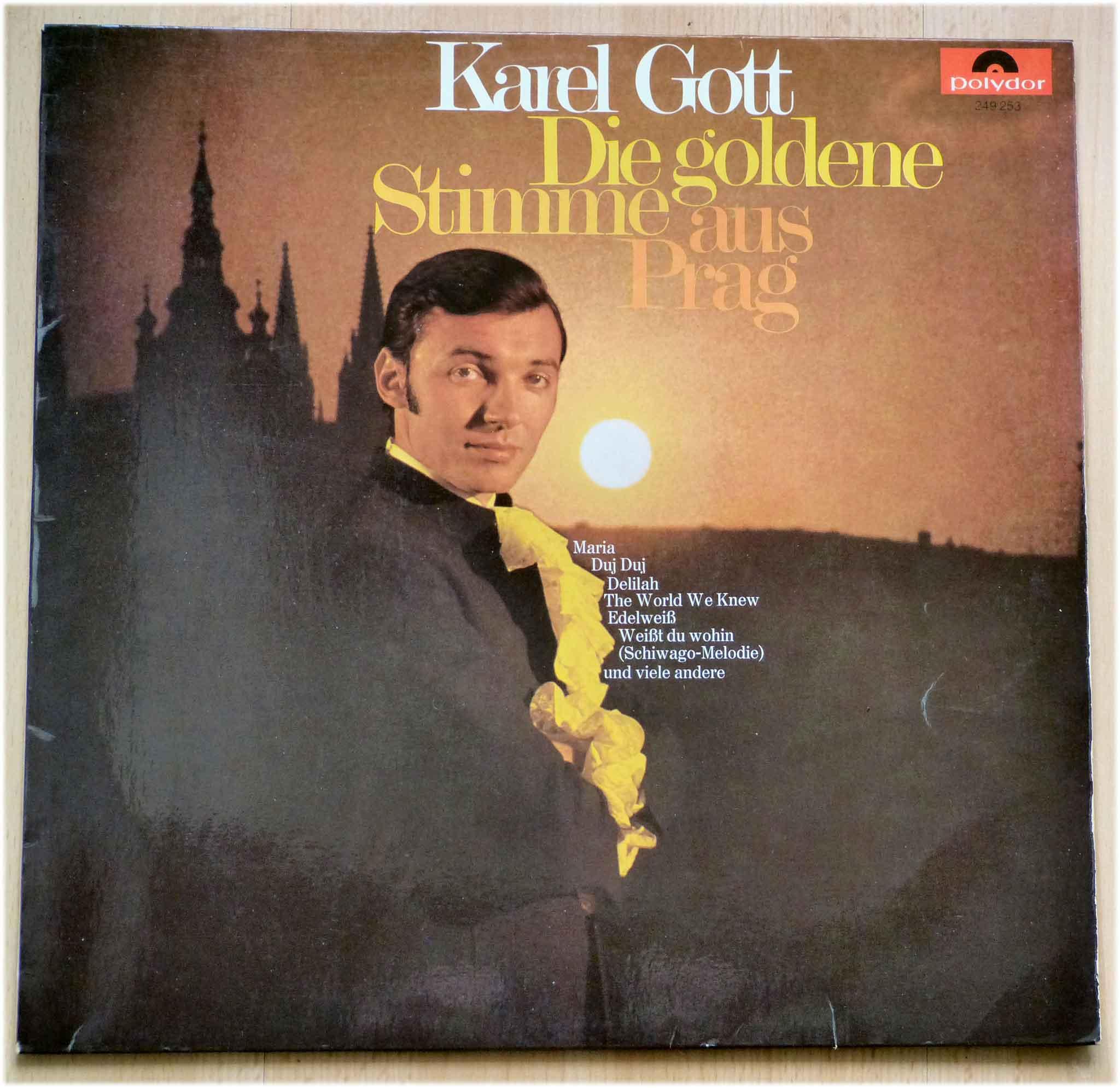 Schallplatte, Karel Gott, Die goldene Stimme aus Prag