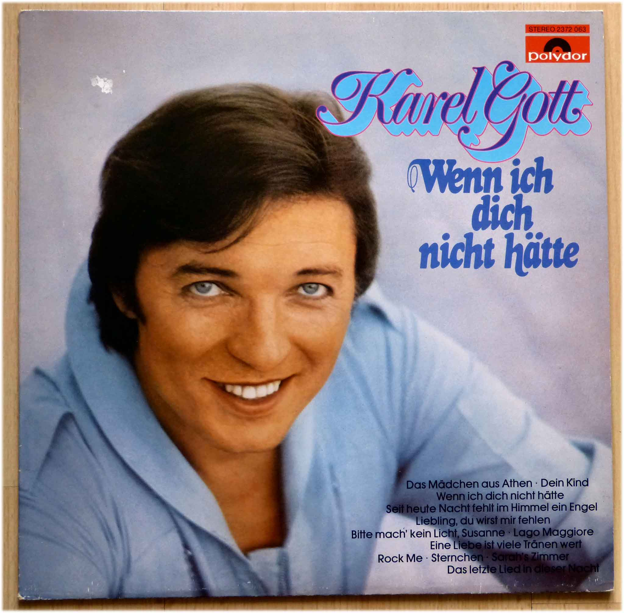 Karel Gott Vinyl Wenn ich dich nicht hätte