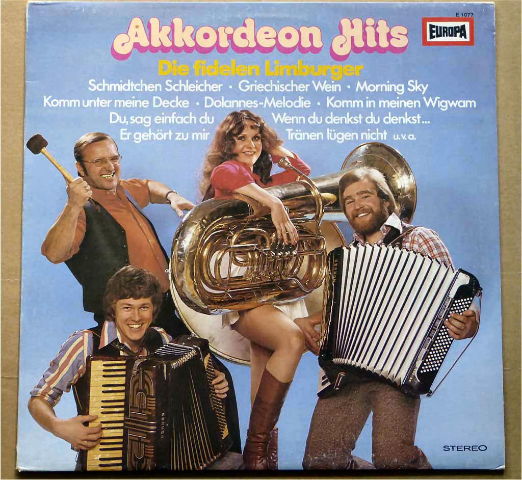 Schallplatte Akkordeon Hits