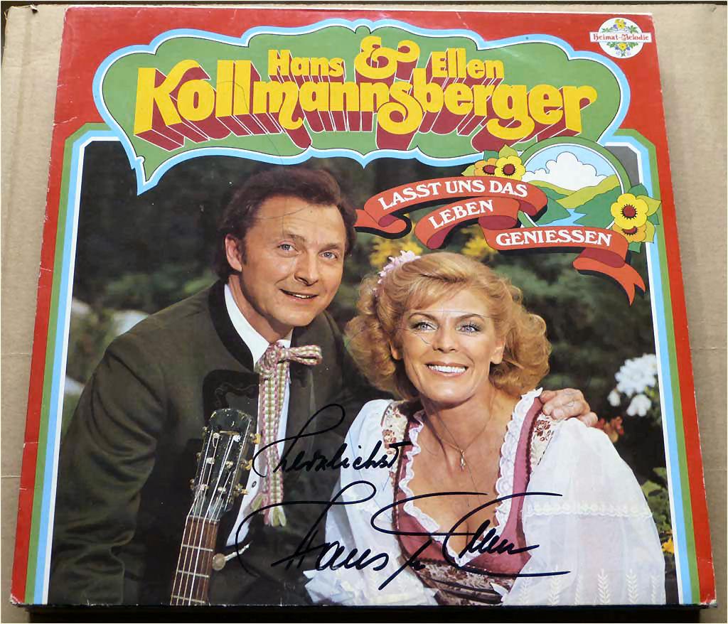Volkslieder Kollmannsberger