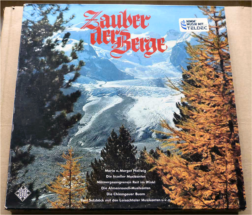 LP Kirmeslieder - Zauber der Berge