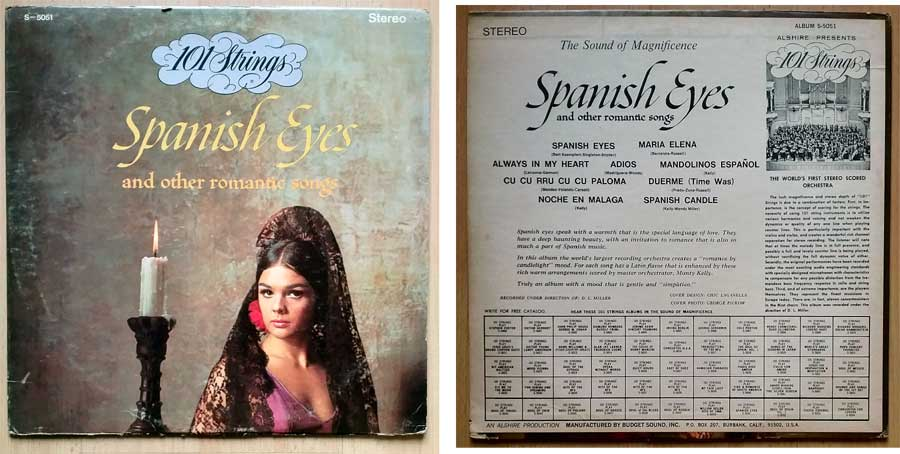 Romantische Songs auf Schallplatten